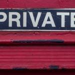 Prive gegevens goed bewaren