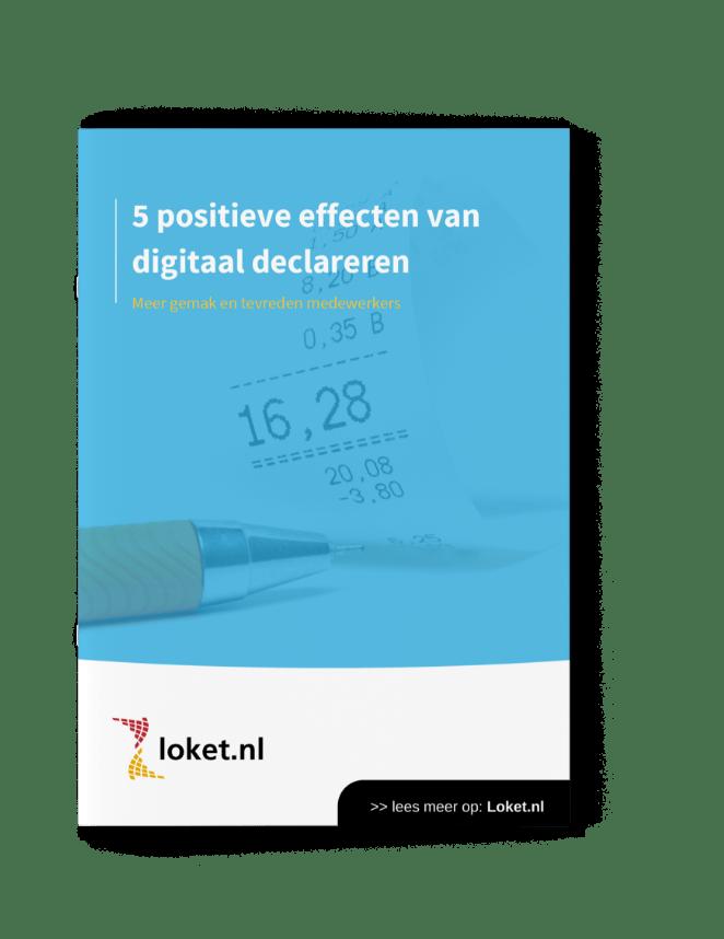 Positieve effecten van digitaal declareren