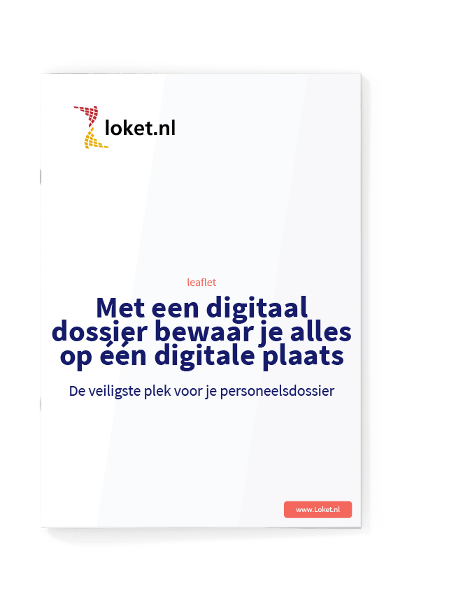 leaflet digitaal dossier