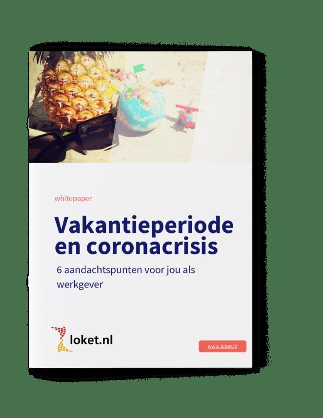 Loket whitepaper Vakantieperiode en coronacrisis