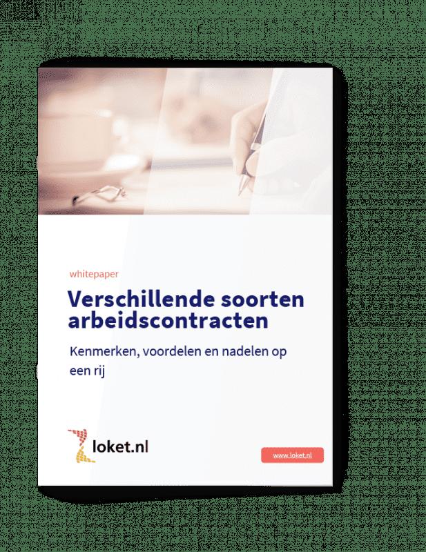 Whitepaper soorten arbeidscontracten cover