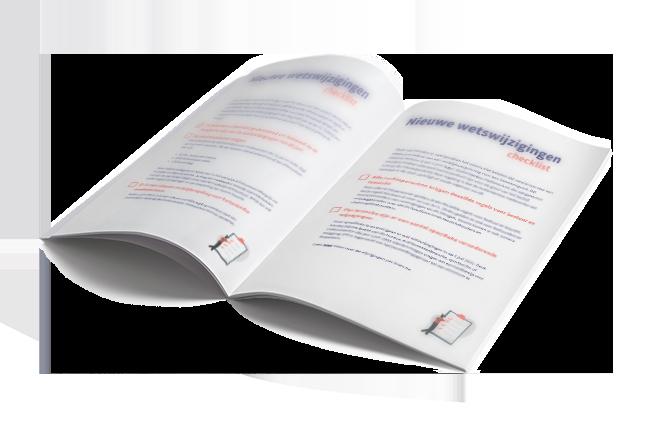 Checklist wetswijzigingen